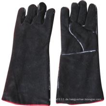 Black Cow Split Leder Schweiß Arbeit Handschuh-6524