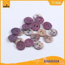 Естественная кнопка раковины для одежды или DIY BN80050