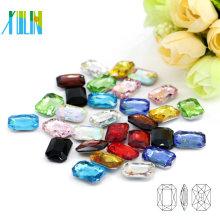 Wholesale DIY Point Back Fancy Crystal Gems Octagonal Rhinestone in Bulk C4627