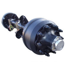 Top quality trailer parts real axle double axle trailer sale