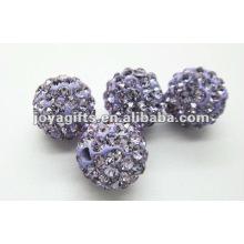 10mm shamballa clay crystal ball,shamballa beads