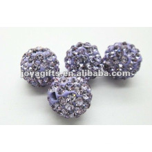 10mm shamballa глина кристалл мяч, shamballa бисер