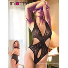 MIORRE SLEEVELESS WOMEN FANTASY BODYSUIT WITH LACE