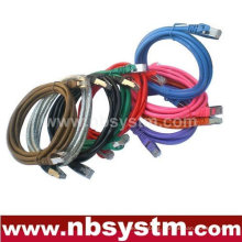 2014 hot sell 6ft 4 pairs stranded Cat5e UTP Patch Cord