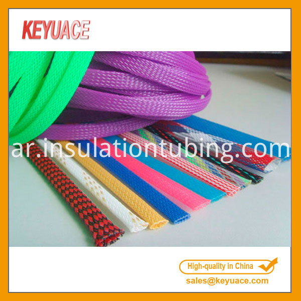 Plastic Braid Pet Expandable Sleeving