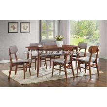 Modern wooden restaurant table set XYN1492