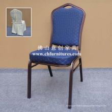 Chaise en aluminium pourpre de ruban d'hôtel avec la couverture (YC-ZL22-16)