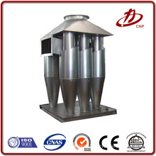 Dust collection ceramic multicyclone