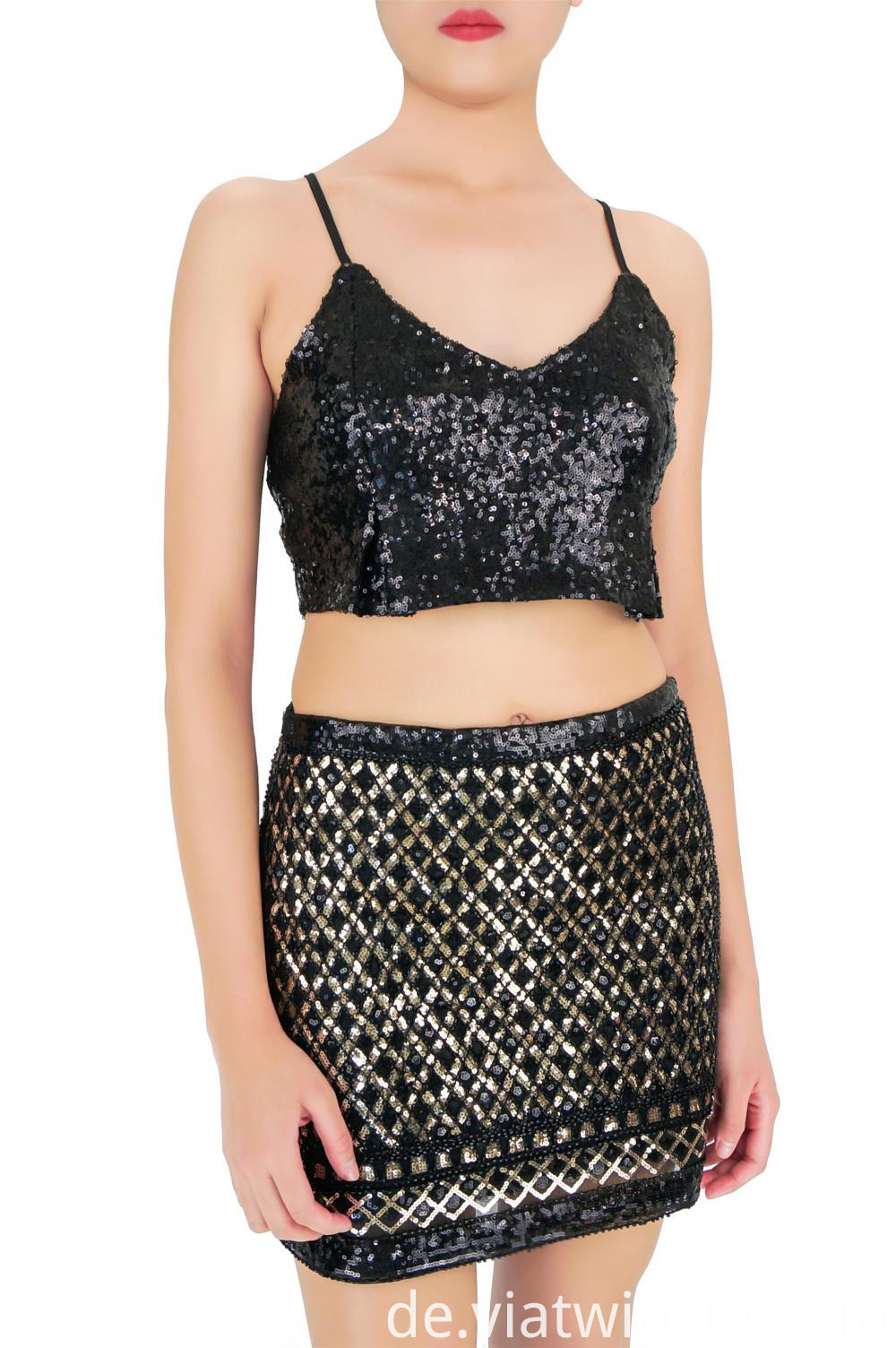 Fashion Sequined Skirt