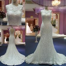 Elegant Mermaid Lace Evening Bridal Dresses Wedding Dress/Gown Mat-102