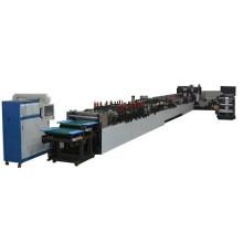 Máquina para fabricar bolsas de fondo plano