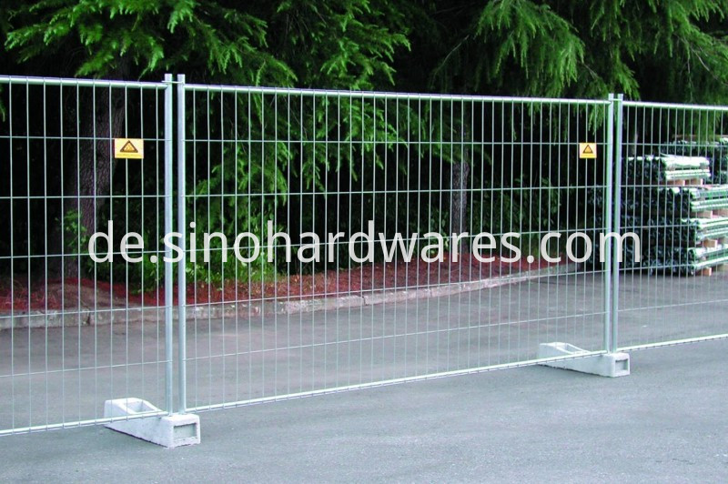 Temporary welded Fence