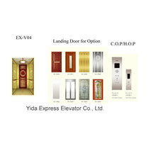Titanium Gold Mirror Home Elevator with Competitive Price
