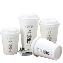 Die cut coffee cup sleeve_hot disposable coffee cup sleeve_coffee paper cup