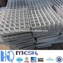 Fábrica soldada paneles de malla de alambre / malla de alambre soldado galvanizado