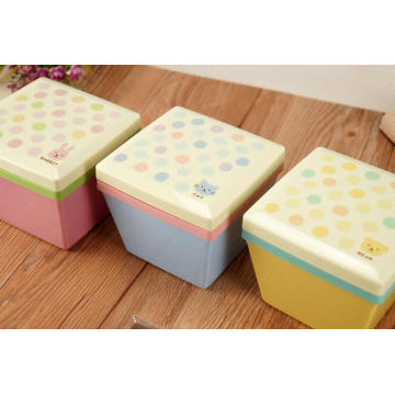 wholesale square plastic bento lunch box container for kids