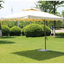 Cream Color Umbrella Outdoor Garden Umbrella