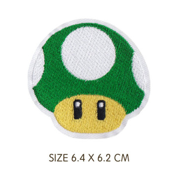 Cartoon-Spiel Super Mario Toy Embroidered Clothes Patch