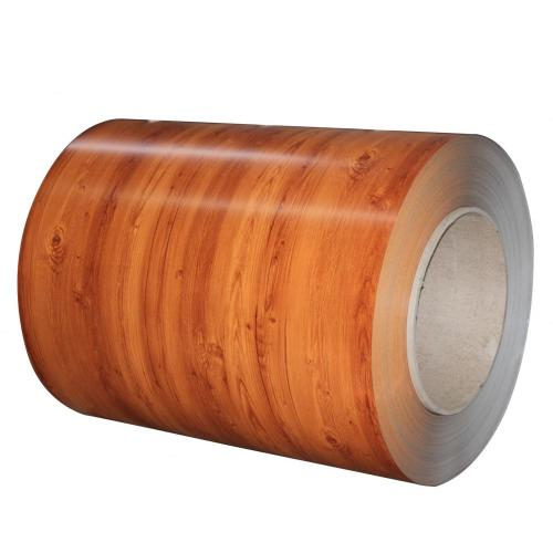 Rollo plano color madera