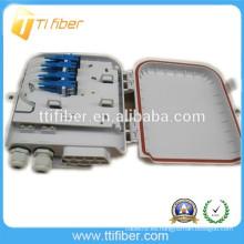 PLC 1X8 con adaptador y conector rápido Caja de distribución de fibra óptica