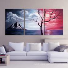 Handmade Beautiful Scenery Oil Painting on Canvas