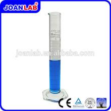 JOAN LAB 250ml Cylindre de mesure en verre à base hexagonale pour usage de laboratoire