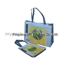 Eco Friendly BOPP Laminated PP Non Woven Cloth Promotion Bag