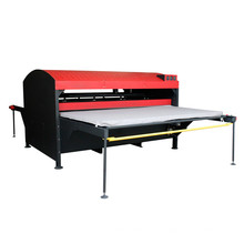 FJXHB4 Pneumatische Großformat Dual Working Station Sublimation Heat Press Machine