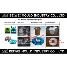 Injection Plastic Dust Waste Gabbage Rubbish Bin Mould