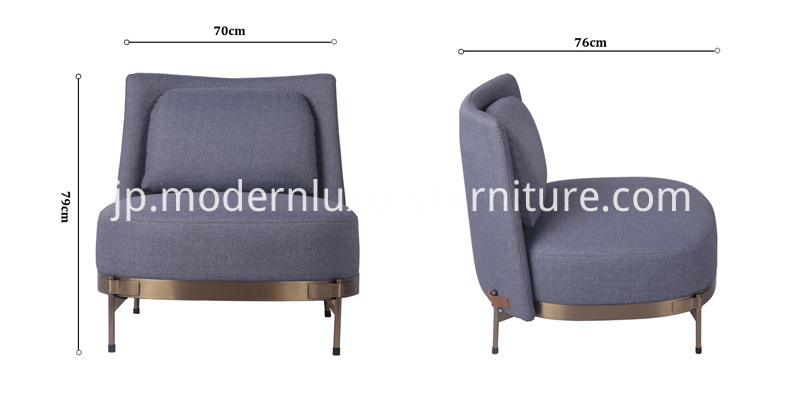 size of tape bergere armchair