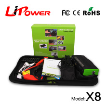 Rechargeable power bank 13600mAh multi-funcftion auto jump starter for emergency Motorcycles and Vehicle Tools