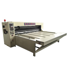 Factory price corrugated carton manual feeder rotary die cutter machine