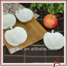 Китай завод белый керамический фарфор закуска блюдо завода ужин набор