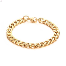 Stainless Gold Cuba Chain Mens Accessories Bracelets