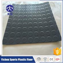 feuille de vinyle de plancher de PVC d'intérieur pour la circulation élevée