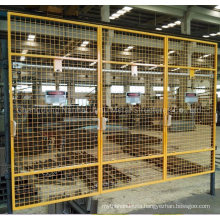 Jimu Painted Mesh Guard Powder Coated Guard Mesh Panels Y14 Golden Yellow