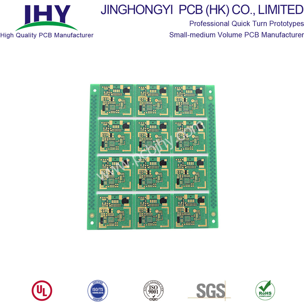 Via in PAD 4L ENIG BGA Rigid PCB