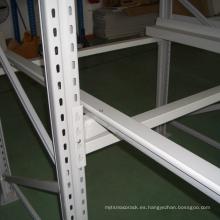 Bastidor autoportante recubierto en polvo con plataforma autoportante / sistemas de estantería de alta paletización