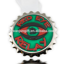 Médaille en alliage de zinc moulé sous forme de conception 3D