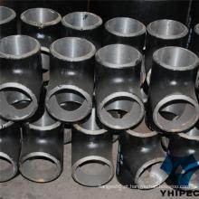 T de encaixe para tubos CS na indústria de gás e petróleo