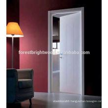 Hot Sale White Wooden Main Flush Doors Design for Toilet