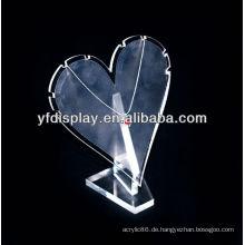Hochwertige Acryl Schmuck Display für Halskette Halter