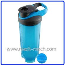 Plastic Protein Blender Shaker Bottle (R-S079)