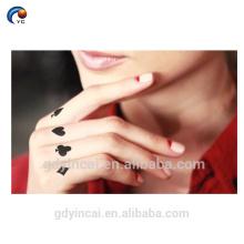 Палец Малый Стиль татуировки наклейки,милый и красивый стикер рука