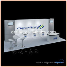 exibition stand pliable stand portable stand juste foire stand design à Shanghai