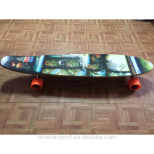 Plataforma de skate de bordo de maple canadense completa