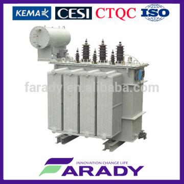 33kV тип масла полюс смонтированный трансформатор силы 200kva 400kva 500kva на продаже