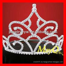 Nueva tiara grande del desfile del diamante del diseño, tiara nupcial