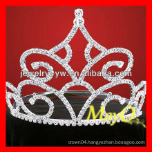 New design big diamond pageant tiara, bridal tiara