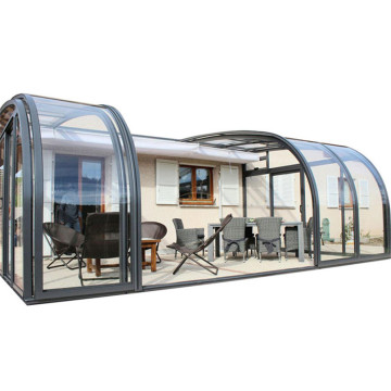 Zippered Unique Used Patio Enclosure Zum Verkauf